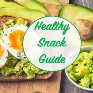 healthy snack guide from the 30 day kickstart challenge healthy living plan from the healthy body happy mind project 1